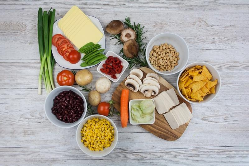 Raclette Vegan Zutaten